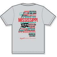 New Mississippi Home Gray Sleeve White