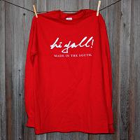 Classic Red Long Sleeve