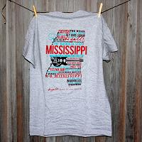 Mississippi Home Gray Short Sleeve