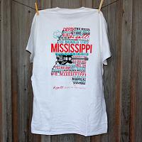 Mississippi Home White Short Sleeve