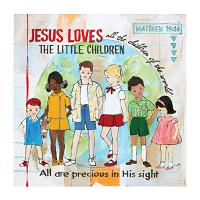 Jesus Loves The Little Children Print