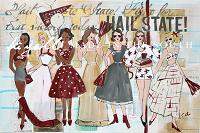Hail State Sisters! PRINT