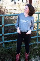 Hi Yall! Gray Long Sleeve