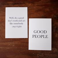 Good People Stationery Set