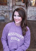 Mississippi Queen Woolly Pullover Maroon