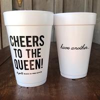 Cheers to the Queen Cups