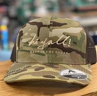 Camo Structured Cap