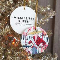 Mississippi Queen Ornament